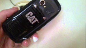 Caterpillar mobiltelefon